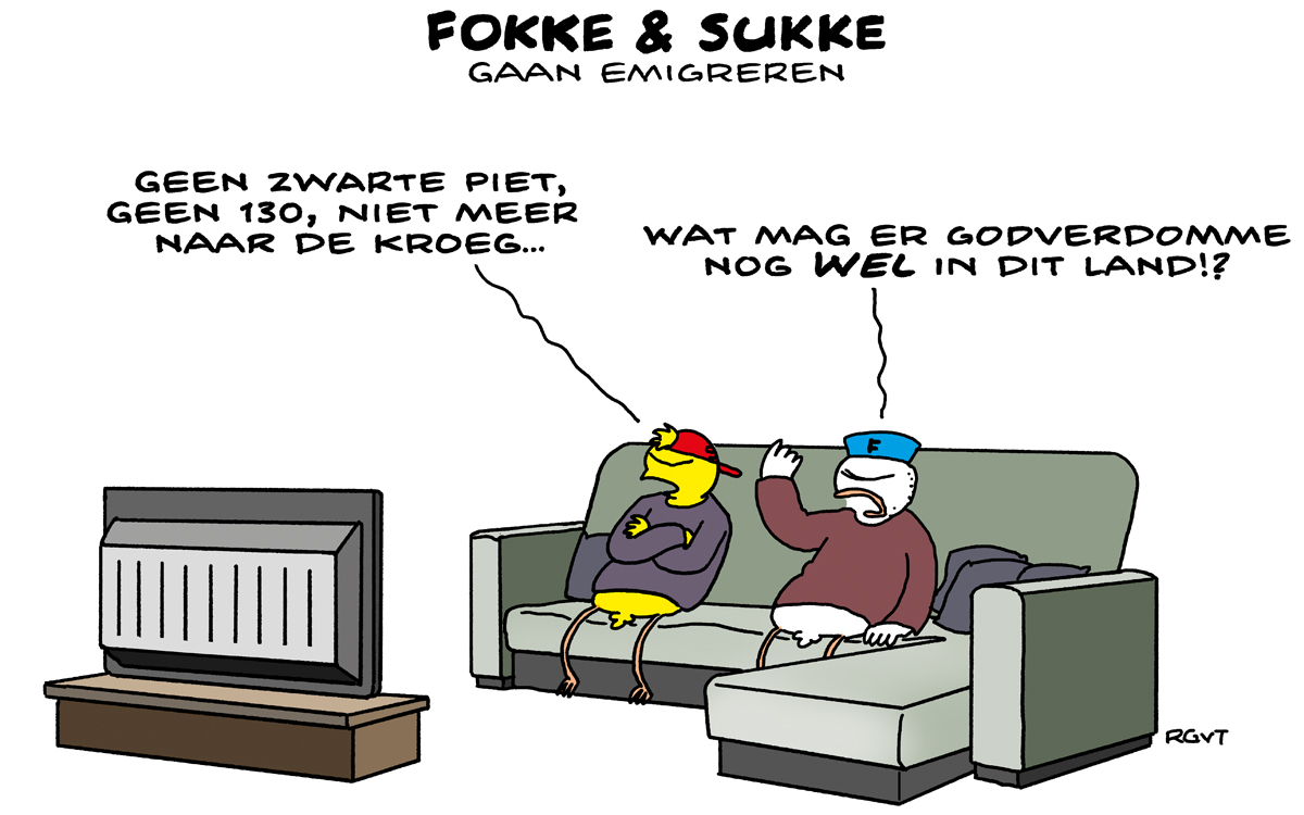 F&S gaan emigreren (NRC, do, 26-03-20)
